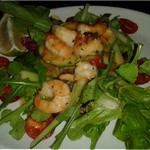 Avocado and Schrimp Ritz