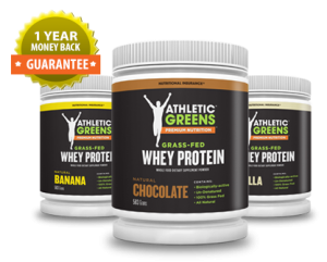 Atheltic Greens grass-fed Whey Protein